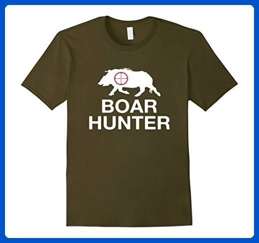6e7f485e9f07f Mens Boar Hunter Funny Hog Hunting T-Shirt XL Olive - Funny shirts ...