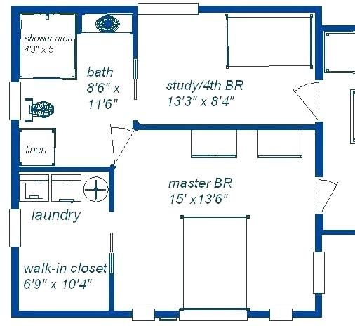 2 Car Garage Conversion To Master Suite Wiht Bathroom Plans Yahoo Image Search Results Master Suite Floor Plan Master Bedroom Addition Master Suite Remodel