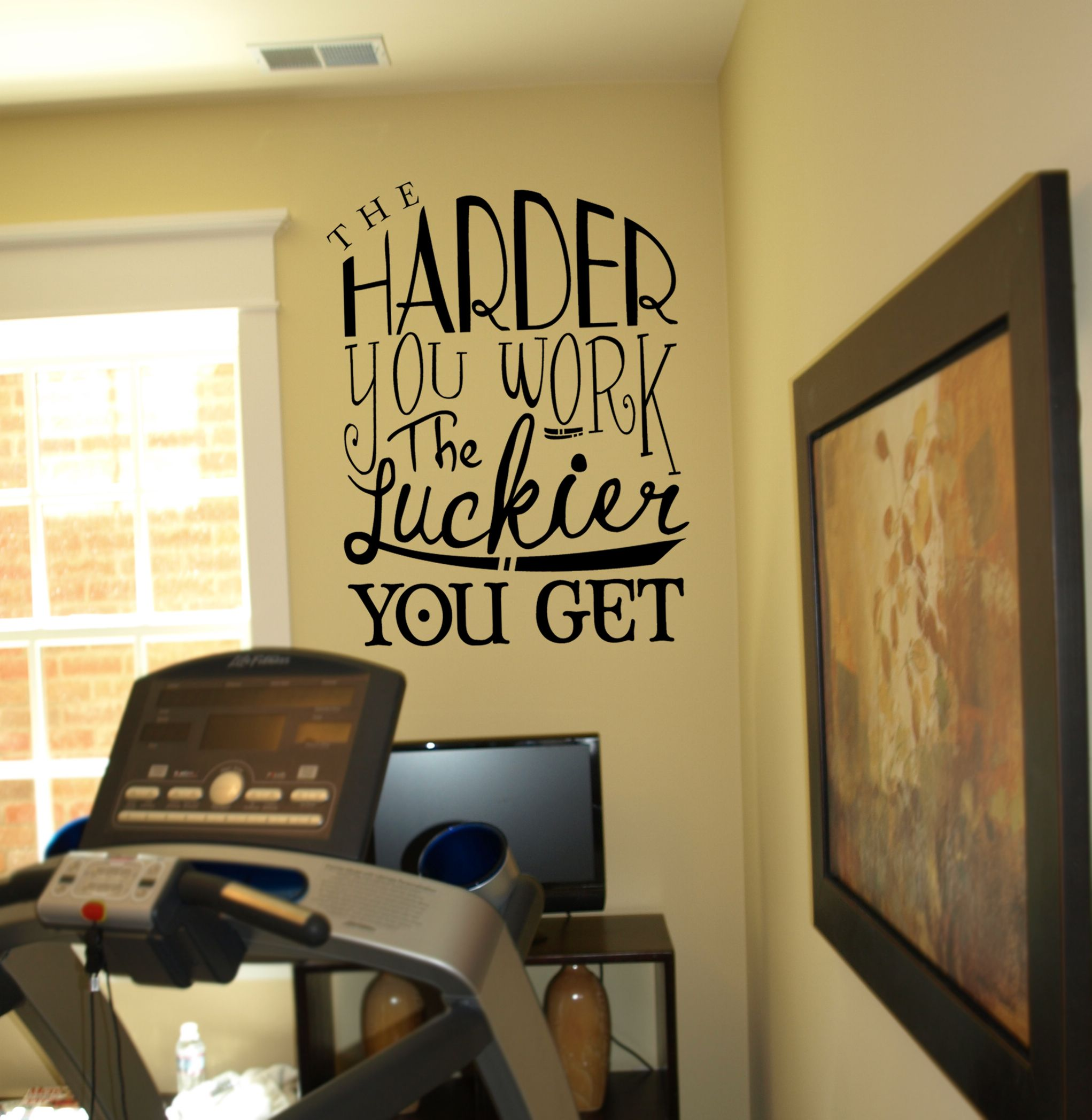 The Harder You Work Wall Decal   Wall decals