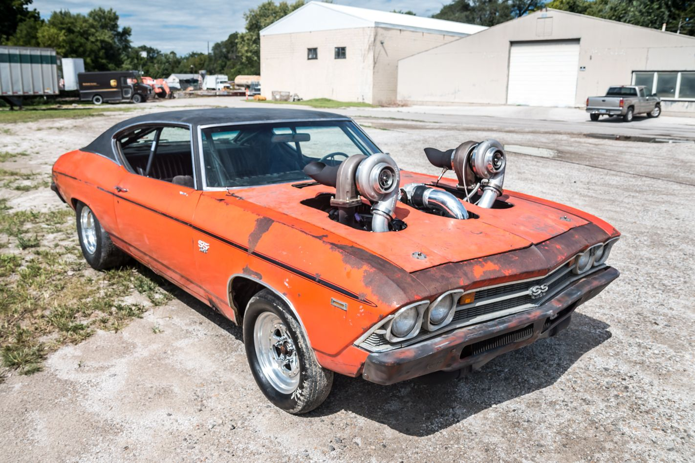 Crazy Powerful Twin Turbo 1969 Chevrolet Chevelle 396 SS | Chevrolet ...