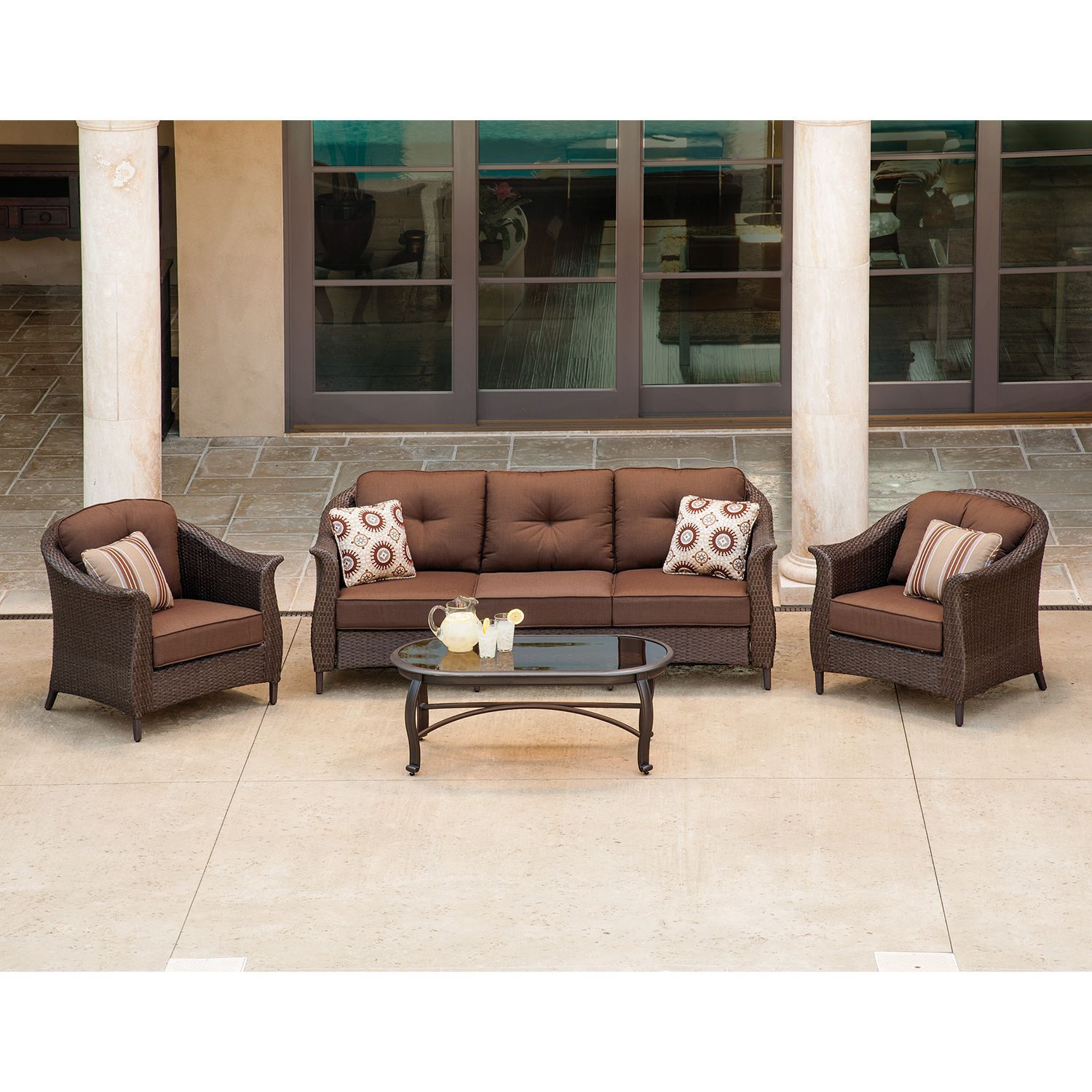 By The Pool$999 Lazboy Outdoor Eva 4 Pcdeep Seating Set Brilliant La Z Boy Dining Room Sets Inspiration