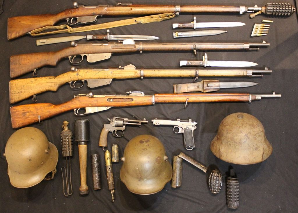 Great War Collection Military Guns Ww1 Soldiers War