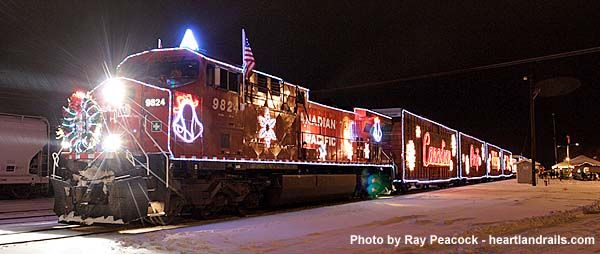 chicago christmas train canadian pacifics 12th annualholiday train will operate on ic rails - Christmas Train Chicago