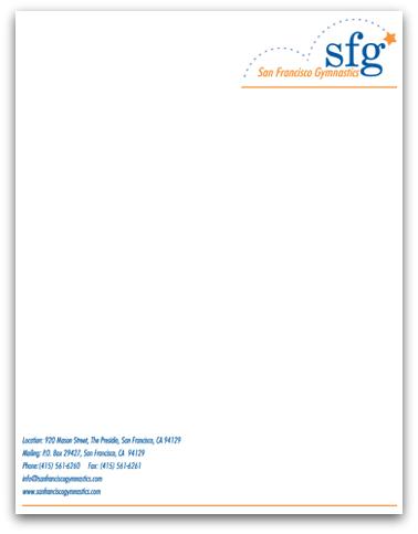 word company letterhead template