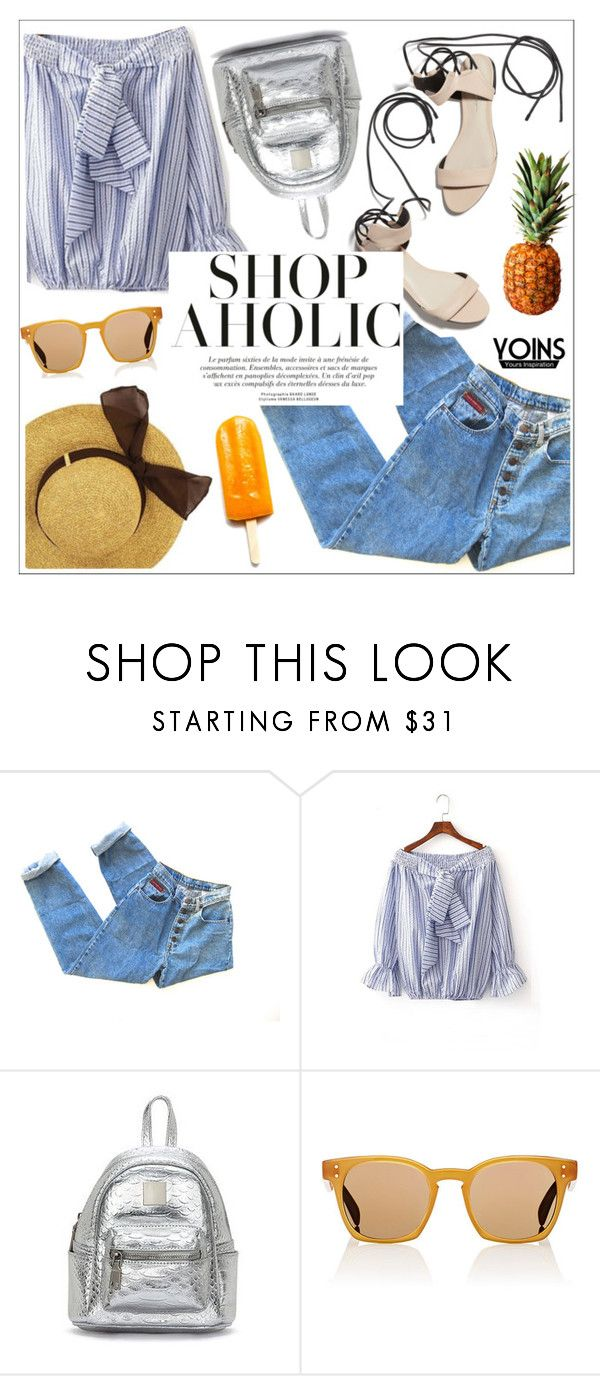 """""""Yoins"""" by teoecar ❤ liked on Polyvore featuring 3.1 Phillip Lim, Oliver Peoples and Disney"""