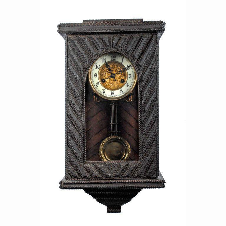 Art Wall Mounted Pendulum Clock