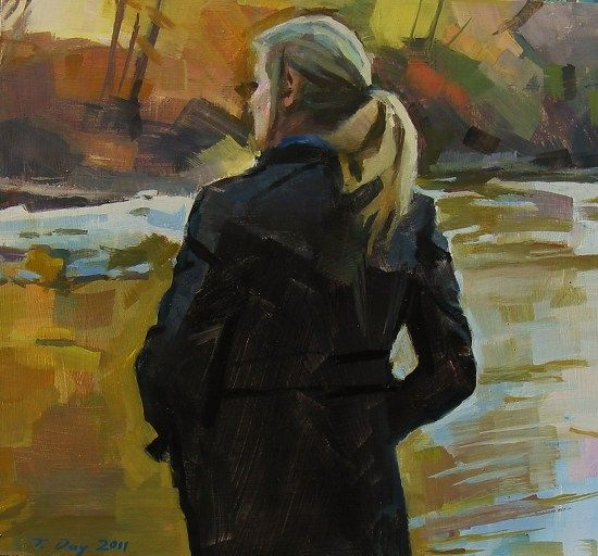 November by Taryn Day (shown below) was selected as a Finalist in the December 2011 BoldBrush Painting Competition.