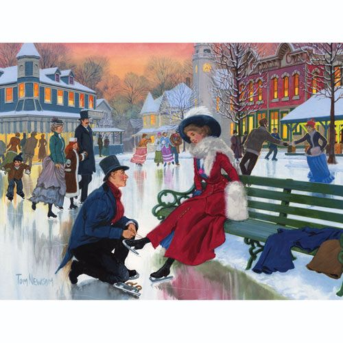 Skaters In Love 500 Piece Jigsaw Puzzle | Bits and Pieces ...