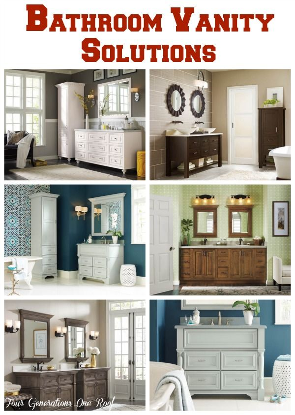 Pic On Makeover Bathroom Vanity Omega Cabinetry free vanity makeover