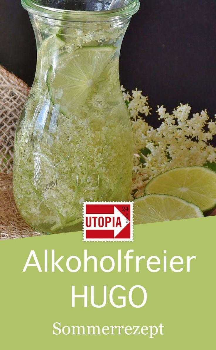 Alkoholfreier Hugo: Ein Rezept für den sommerlichen Cocktail - Utopia.de