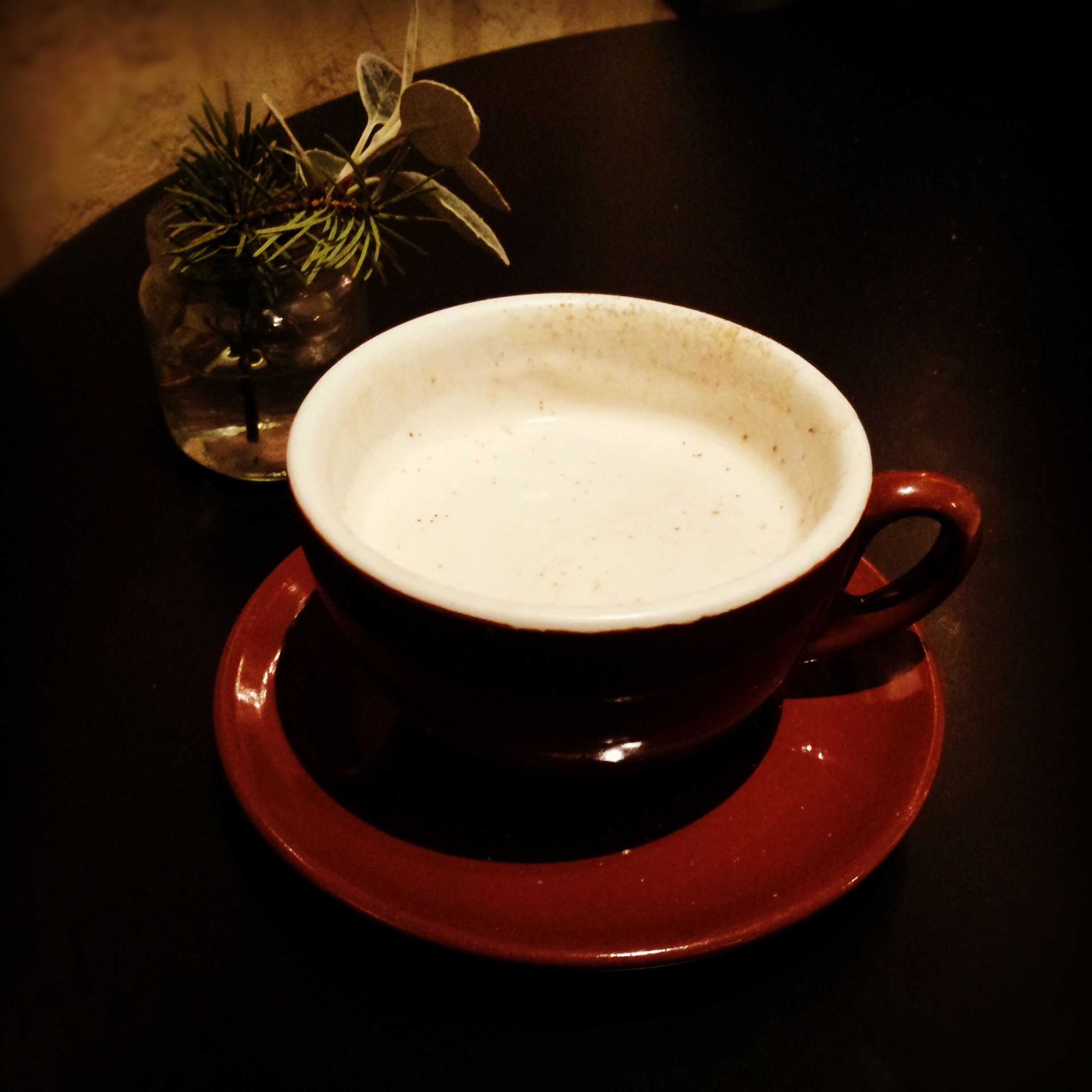 Chai tea latte at undertown port townsend