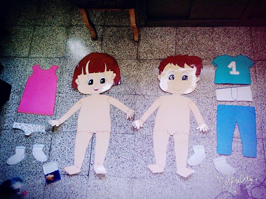1de093d67 Partes del niño- niña, prendas de vestir | Mis proyectos