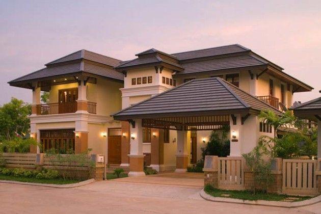 10 Gorgeous Asian Inspired Exterior Design Ideas Exterior Design Modern House Exterior Facade House