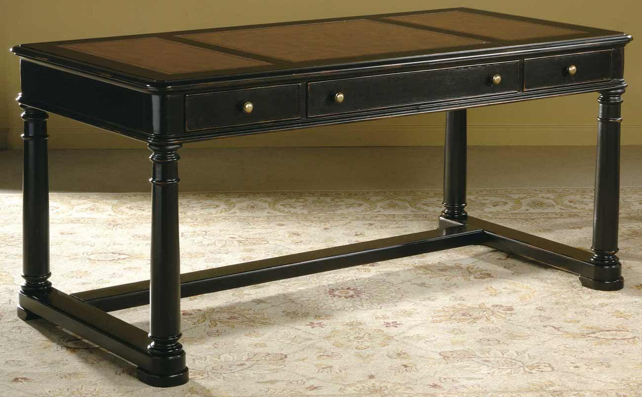 Clic Black Wood Home Office Furniture Desk