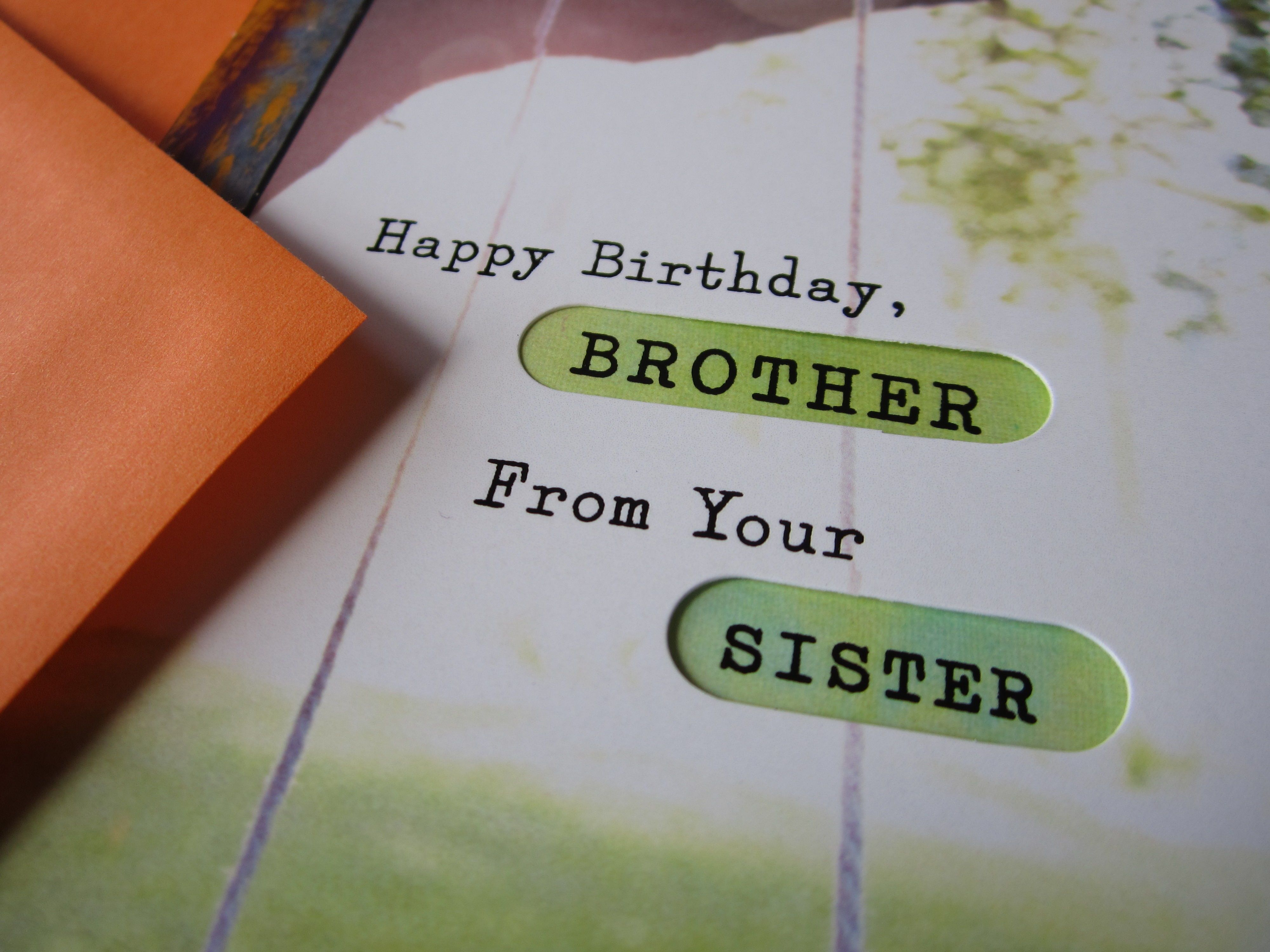 Birthday Cards For Sister From Brother ~ Bast happy birthday cards for brother happy birthday brother happy