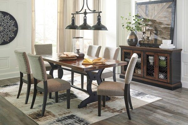 Ashley Furniture Zurani 7pc Dining Room Set Home Sweet Home