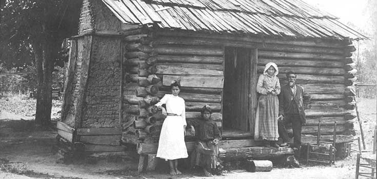 Croatoan. NC. early 1900s. (Native American Houses