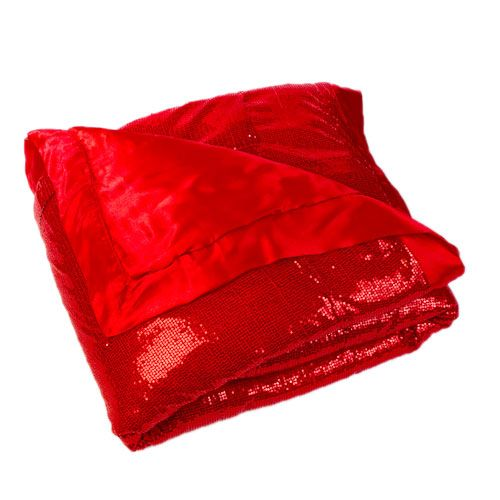 """Red Sequin Throw Blanket 60"""" X 80"""" (With images) Home"""