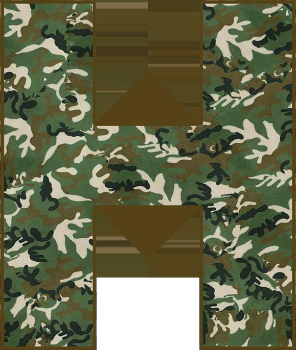 Camo Birthday Invitations, Camouflage