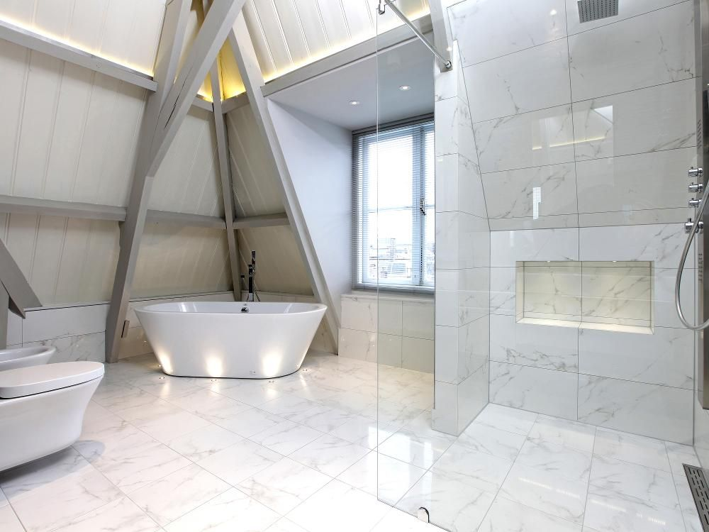 Porcelanosa carrara blanco natural i 39 ve used this before for Porcelanosa bathrooms prices
