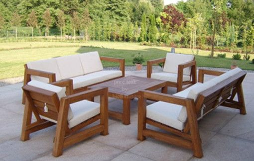 Remarkable Wooden Outdoor Indoor Teak Wood Sofa Set A23 Living In Caraccident5 Cool Chair Designs And Ideas Caraccident5Info