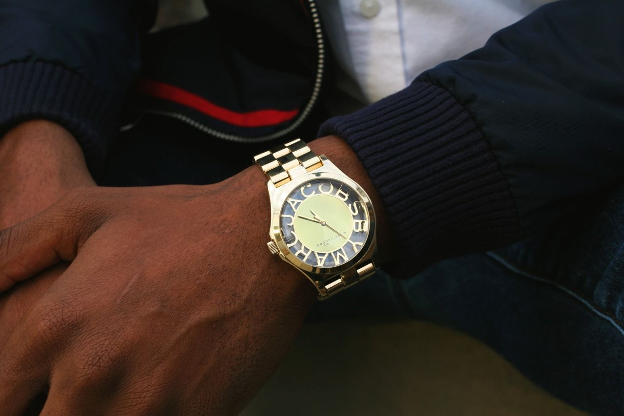 Marc by Marc Jacobs Watch via http://coolandwelldressed.tumblr.com/post/108032651826/style-profile-marc-jackson