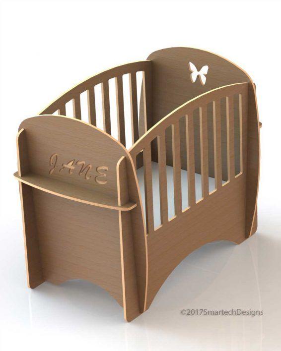 Plain Baby Crib in 2018 | Smartech Furniture | Pinterest ...