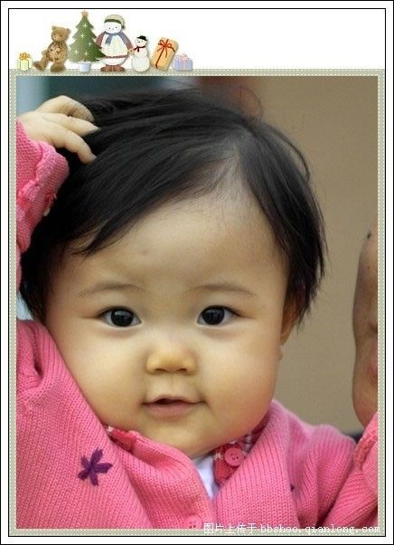Version Cute chinese baby girl naked