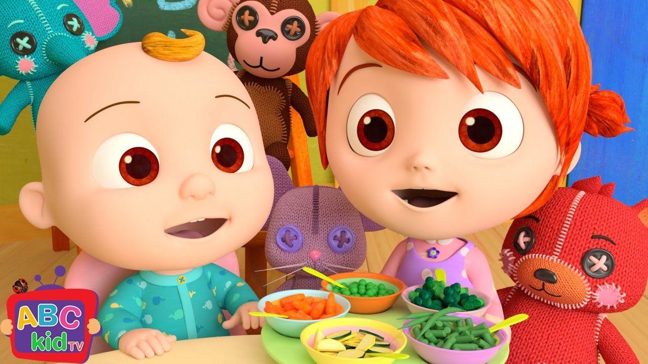 Yum Yum Vegetables Song Abckidtv Songs For Children Kids Songs Nursery Rhymes Rhymes