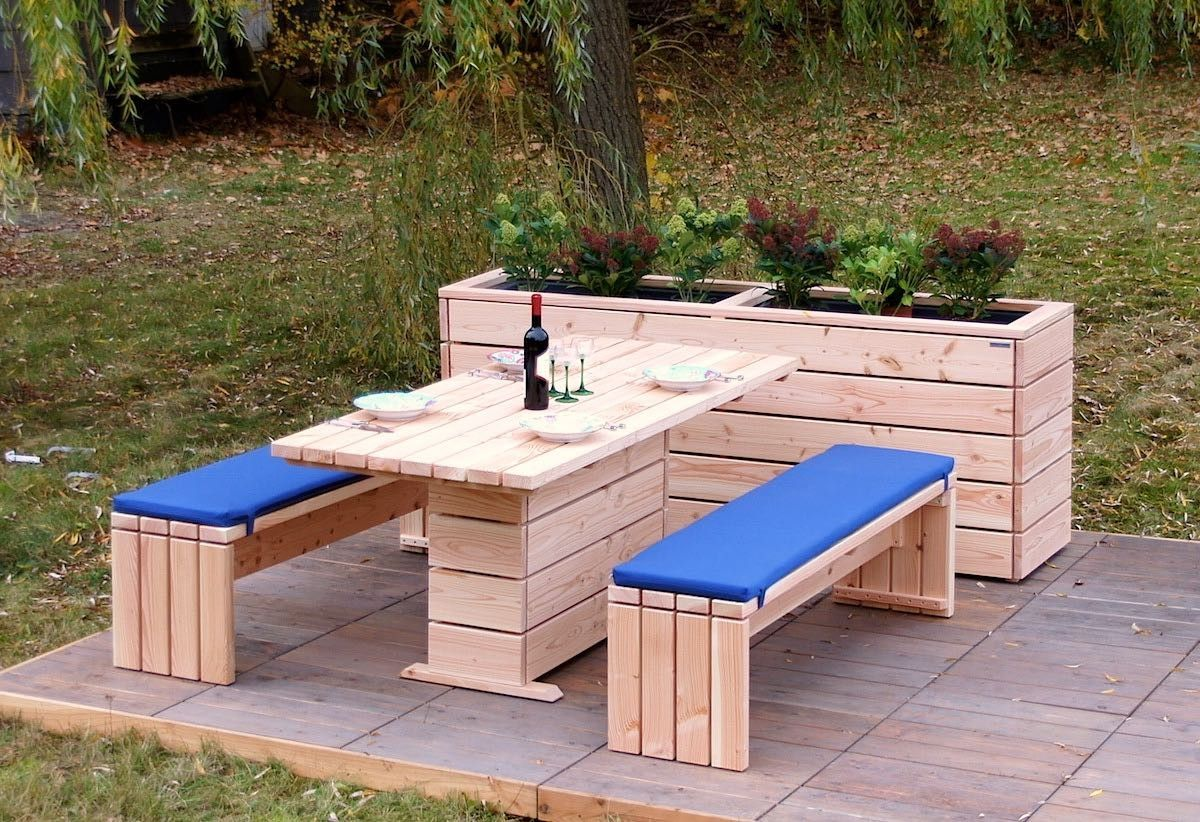 Gartenmöbel Holz Set Gartenmöbel Holz Set 2 Palettenmöbel Outdoor Furniture Sets