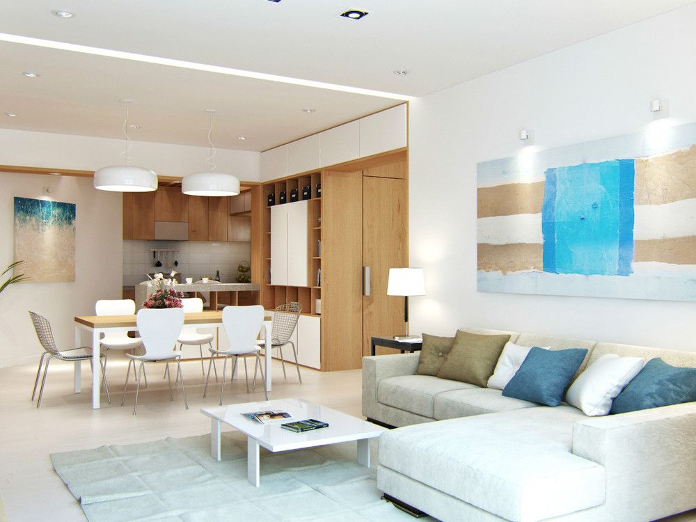 Beach apartment interior design google search beach - Modern apartment interior design ...