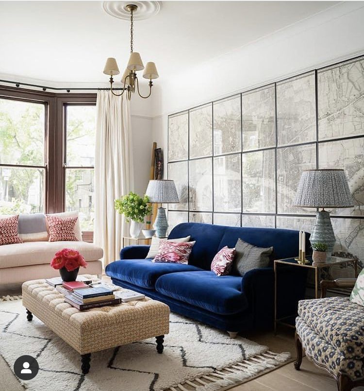 Pin By Kye H On New Condo Blue Couch Living Room Blue Sofas Living Room Velvet Sofa Living Room