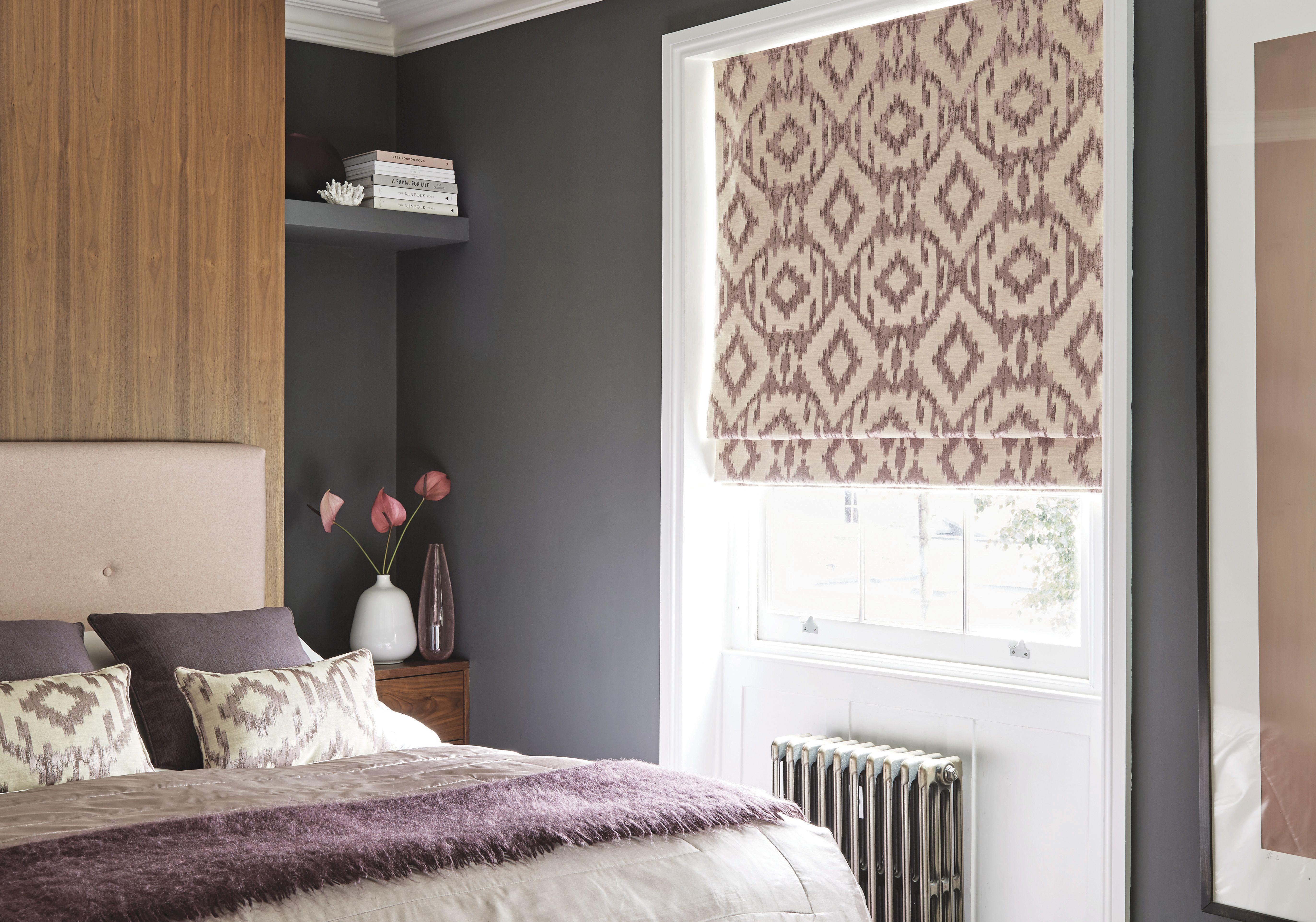 Roman Blinds Warm bedroom, Roman blinds, Blackout roman