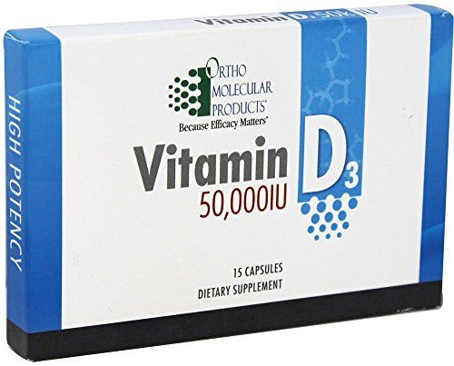 Ortho Molecular Vitamin D3 50000iu 15 Capsules You Can Find Out More Details At The Link Of The Image Vitamins Molecular Capsule