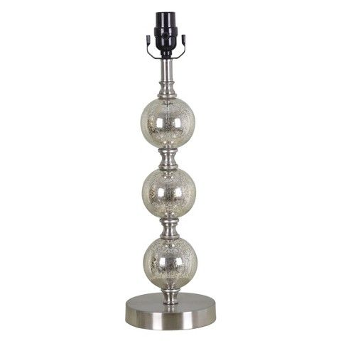 Threshold™ Mercury Glass Stacked Ball Lamp Base Large