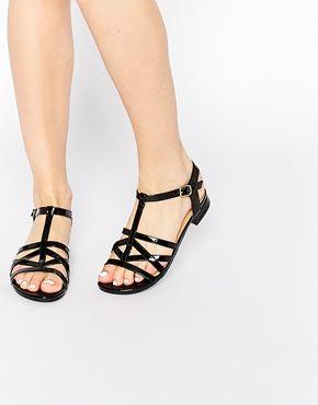 ASOS FRANCOIS Caged Sandals
