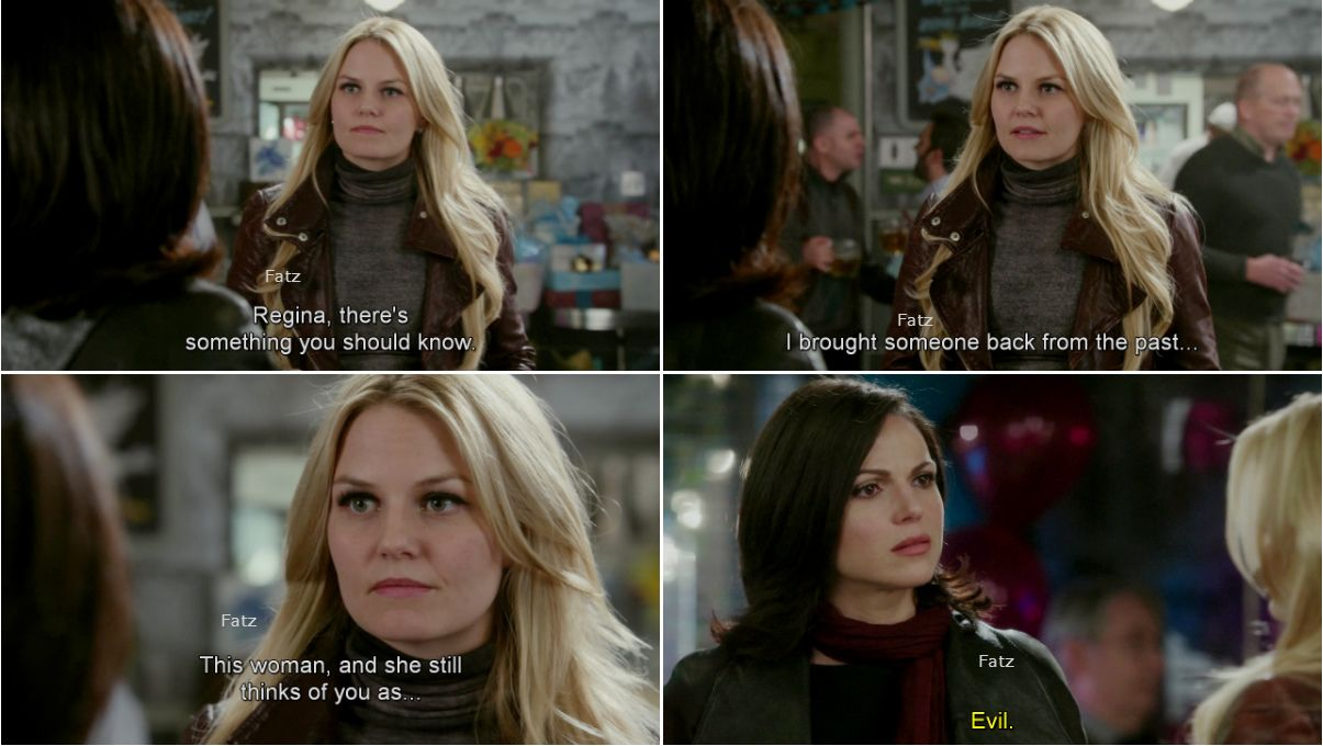 """Regina and Emma - """"There's No Place Like Home"""" - 3 *22."""