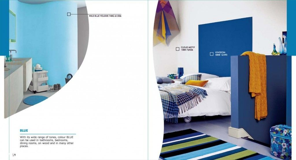 Easygoing Blue Home Interiors Colour Of Dulux Colours And You Catalogues Ici Dulux Colour