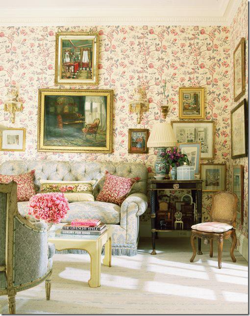 Sitting Room With Antiques