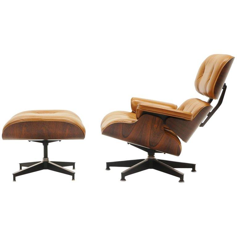 Wondrous Rare Eames Lounge Chair 670 And Ottoman 671 Rosewood Creativecarmelina Interior Chair Design Creativecarmelinacom