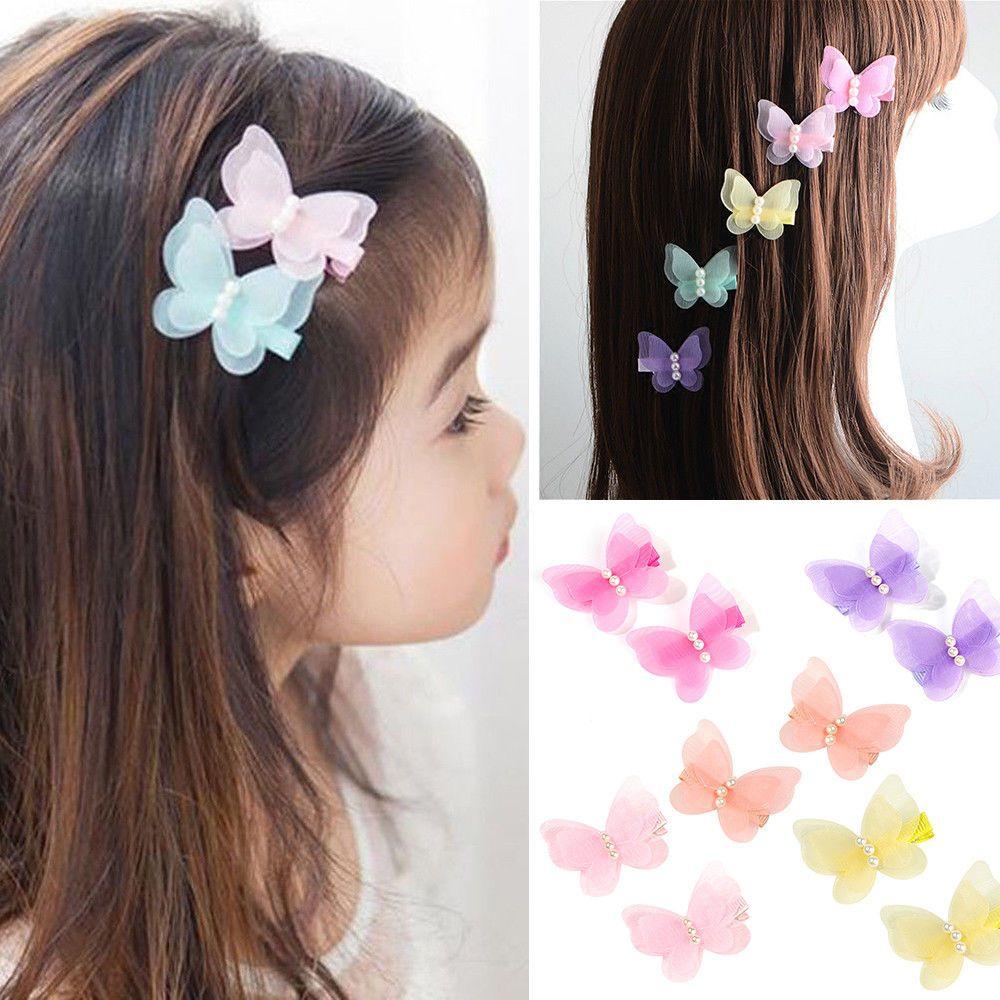 2 Pcs Fashion boutique baby Girl hair bows clips hairpin  hair accessories d