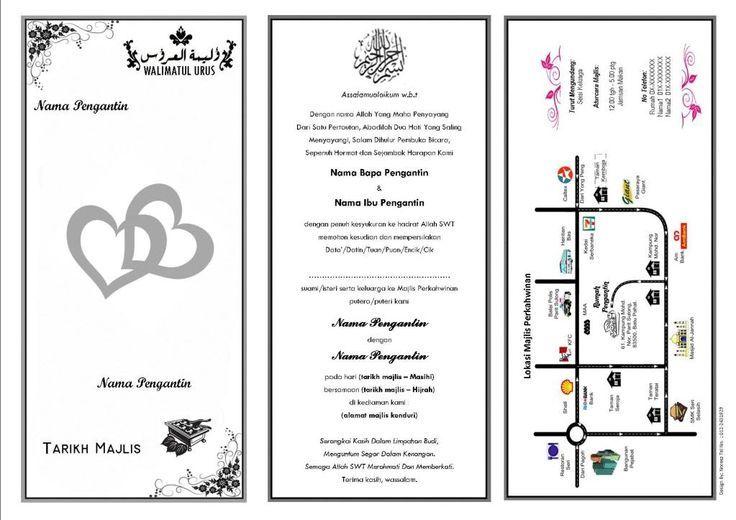 Design Kad Kahwin Digital
