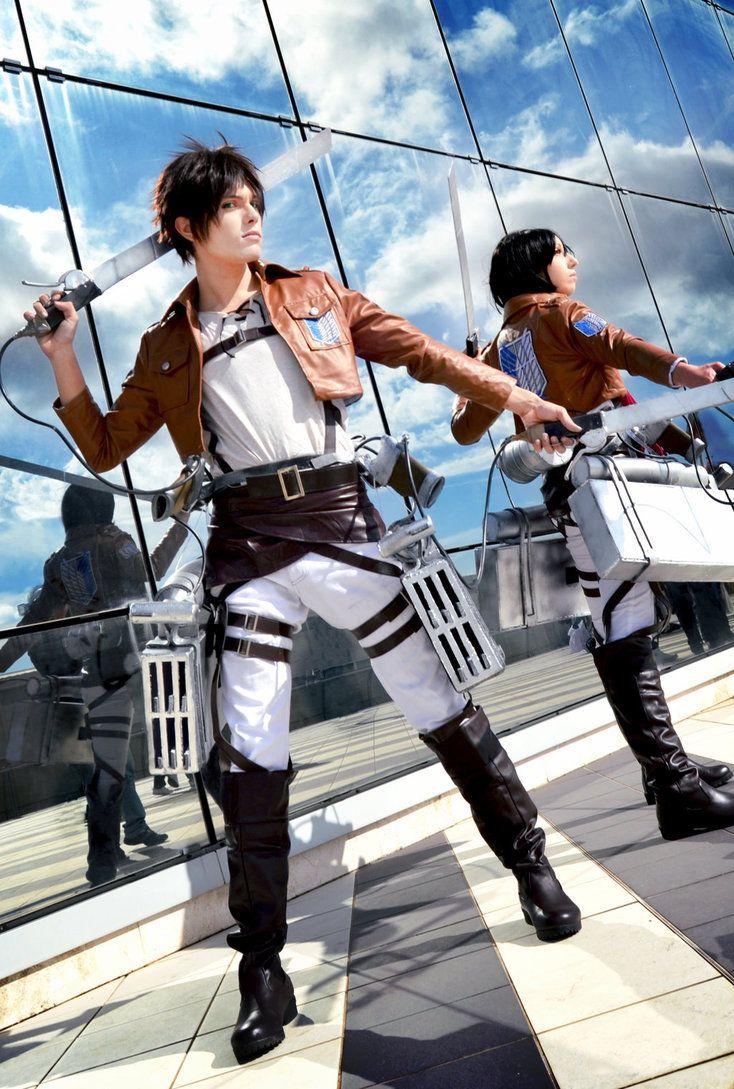 Eren and mikasa cosplay