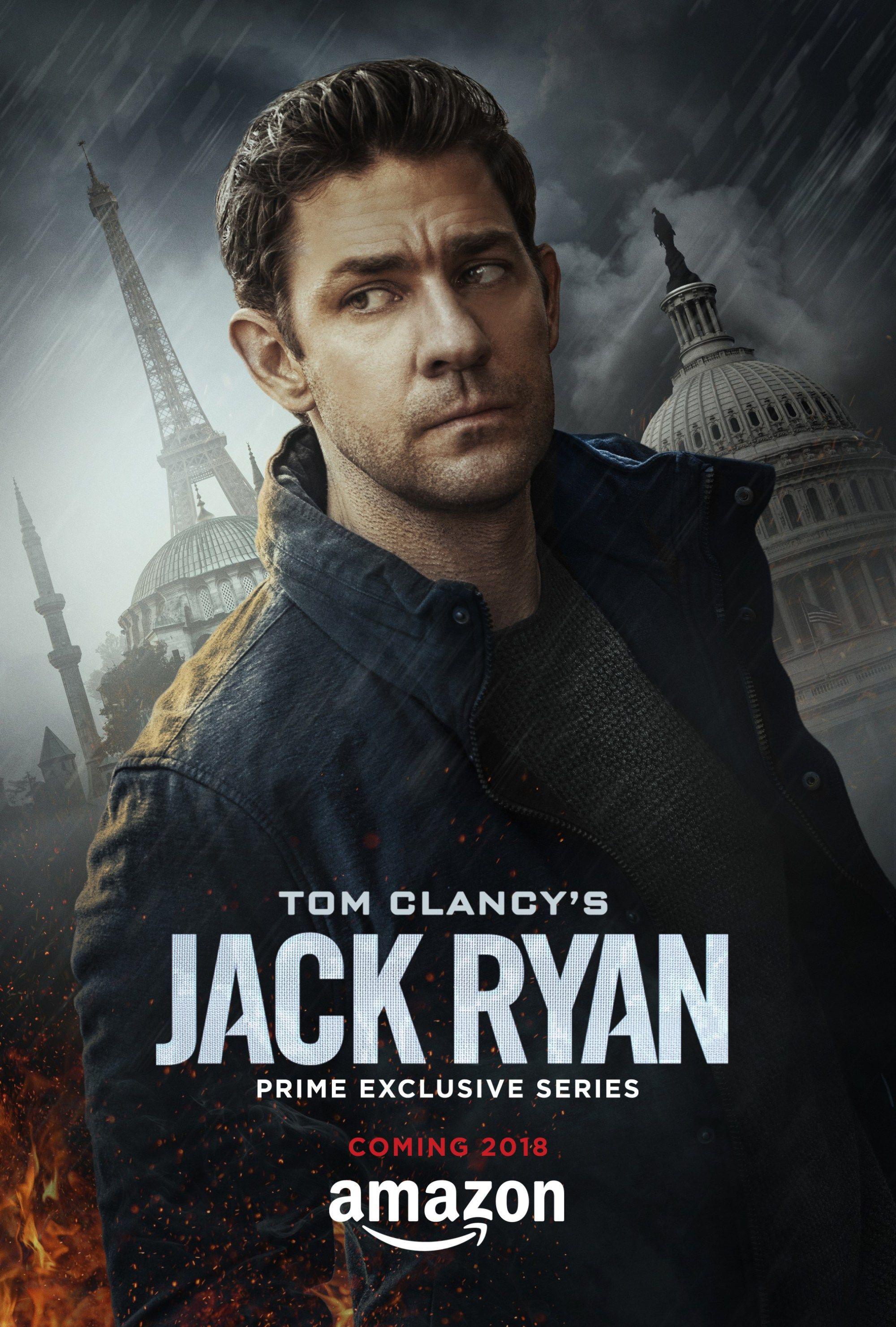 Tom Clancy S Jack Ryan John Krasinski Dara Vida Ao Personagem Em