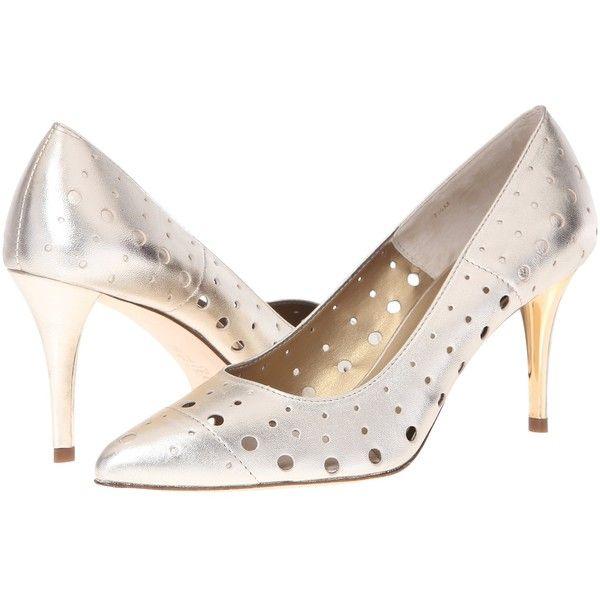 Womens Shoes Vaneli Skinny Silver Met Nappa