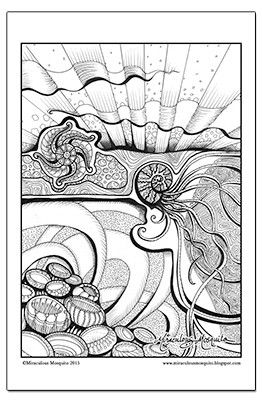 Colouring Pages Miraculous Mosquito S Website This Is The Home Of My Folio Of Artwork And My Onli Coloring Pages Zentangle Artwork Printable Coloring Pages