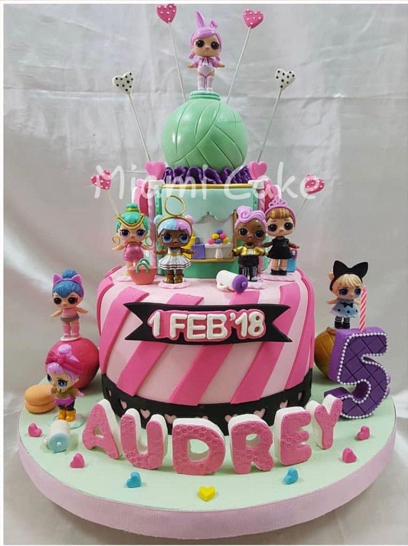 Lol Surprise Dolls Birthday Cake Lol Surprise Party Ideas