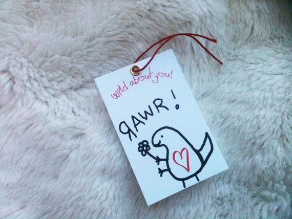 Etiquettes dans diy et emballage cadeau etsy saint - Emballage cadeau saint valentin ...