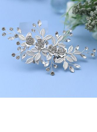 JJsHouse Hairpins Wedding Special Occasion Party Halloween Carnival Art photography Rhinestone Alloy 5.31\