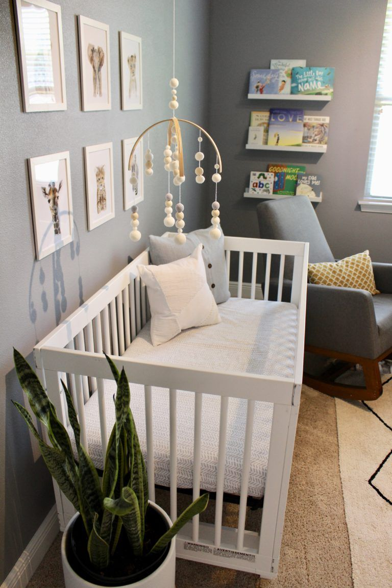 Baby Jungen Zimmer Ideen Such A Sweet And Simple Modern Nursery! | Nursery Room Boy, Baby Nursery Decor, Nursery Baby Room
